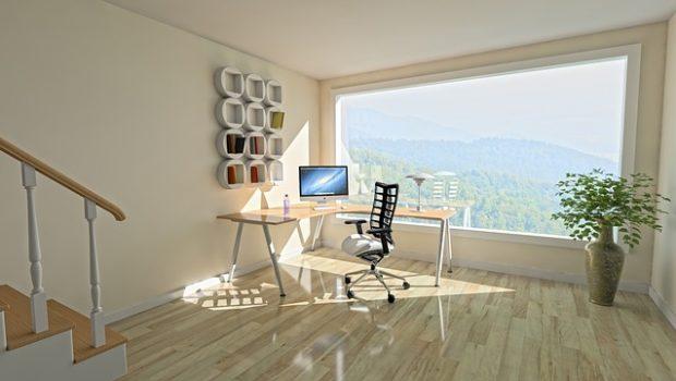 פינת עבודה מעוצבת – למשרד ביתי מושלם